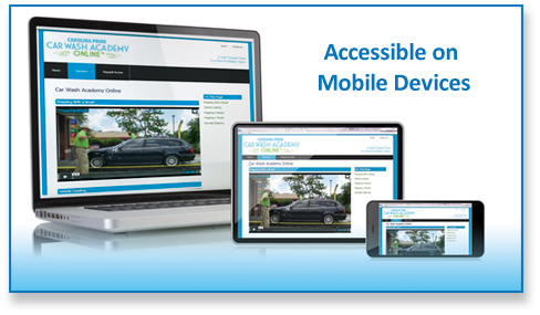 car wash academy online mobile devices