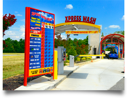 car wash marketing express wash kernersville