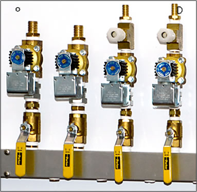 fluid management ball valves and swivel adapters