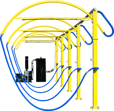 car wash equipment vacuum stanchions