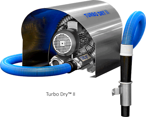 self serve car wash dryer Turbo Dry II