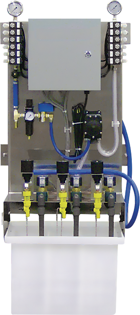 car wash equipment self-serve low pressure system