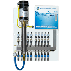car wash equipment solution control center